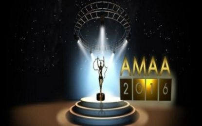 Full list of winners at AMAA 2016