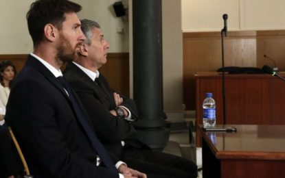 Lionel Messi handed jail term in Spain for tax fraud