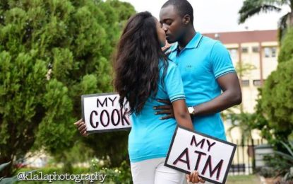 Picture of the day: couple's prewedding photo