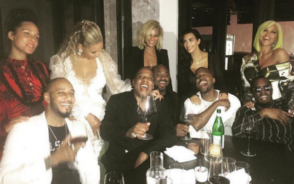 Some of the world's most powerful couple dine together after the VMAs