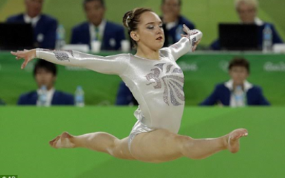 Amy Tinkler becomes youngest British athlete to win at the Olympics