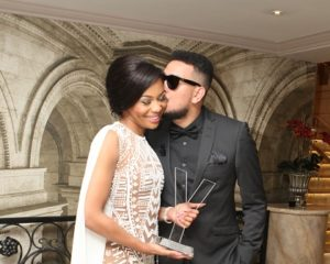 Bonang reunites with her man AKA after New York trip