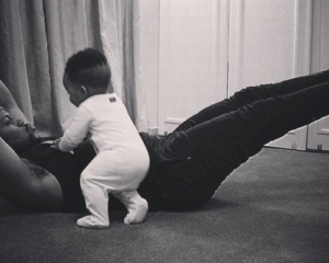 5 pictures of Mayihlome Tshwete and his son's adorable pictures