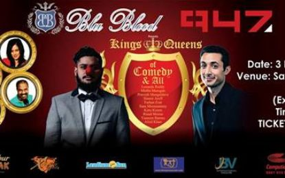 The BLU Blood Bollywood Experience – KINGS & QUEENS OF COMEDY AND ALL'