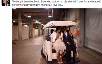 """Happy Birthday, Michelle. I love you"" Barrack Obama wishes Michelle a happy 53rd birthday"