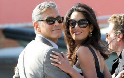 Is George Clooney and Amal expecting a baby?