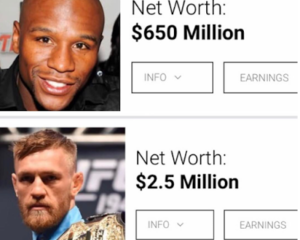 Floyd Mayweather takes shots at Conor McGregor for asking for $25m to fight him