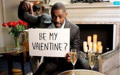 Idris Elba is looking for a Valentine