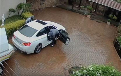 Family robbed at gunpoint as they arrive home from OR Tambo Airport