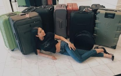 Miss Thailand flies to Manila for Miss Universe pageant with 17 suitcases