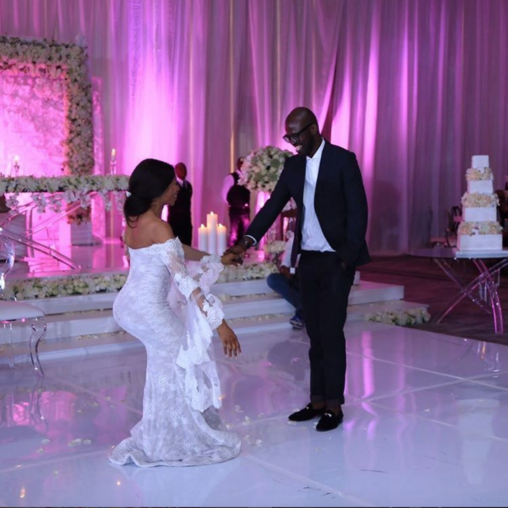 watch black coffee dancing for enhle at their wedding - jozi gist