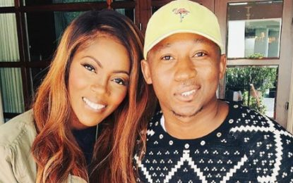 Khuli Chana hangs out with Tiwa Savage in Los Angeles