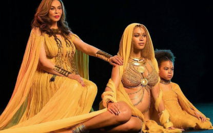 Beyonce, her mum and Blue Ivy maternity shoot is everything