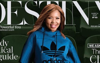 Carol Tshabalala covers of Destiny Magazine