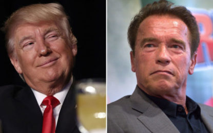 Arnold Schwarzenegger hits back at Trump: 'Why Don't We Switch Jobs?'