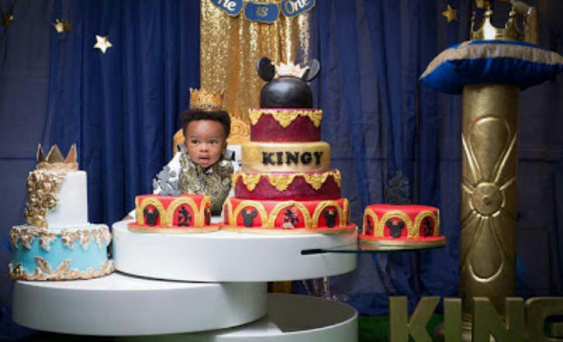 Tonto Dikeh and her son stun in new photos to celebrate first birthday
