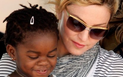 Madonna adopts Malawian twins, Stella and Esther