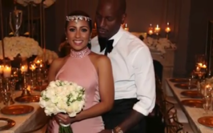 Tyrese Gibson is married!