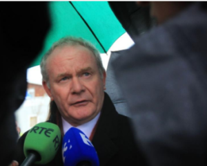 Former Northern Ireland leader, Martin McGuinness dies at 66