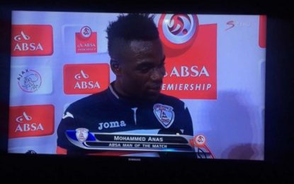 Footballer Mohammed Anas thanks wife and girlfriend on live TV