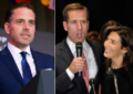 Beau Biden's widow, Hallie, is having an affair with his younger brother and their father Joe approves