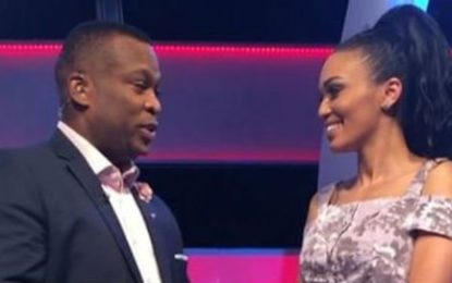Pearl Thusi throws her man a surprise birthday party