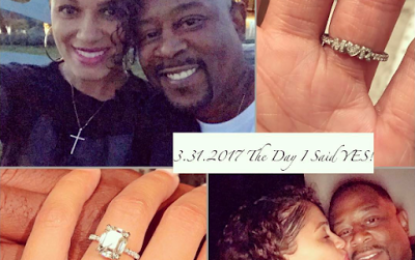 Martin Lawrence proposes to girlfriend with a $500K diamond ring