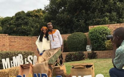 Picture from Kwesta's traditional wedding