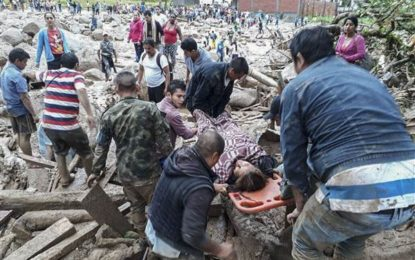 Mudslides in Colombia kill over 200 people