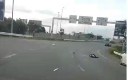 VIDEO: Man shot dead in a car hijacking incident at OR Tambo
