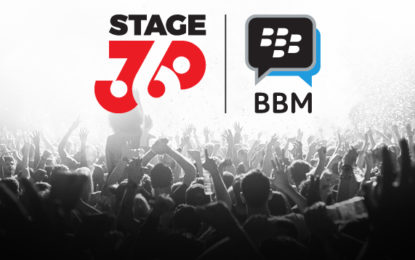 STAGE360 Music Launches on BBM Messenger