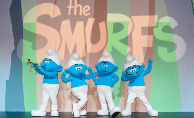 One month to go until the magical world of The Smurfs + Global Smurfs Day