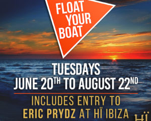 Float Your Boat Release Cream Ibiza Boat Party Line Up Second Phase