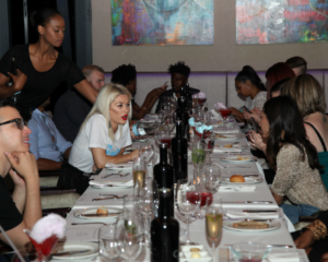 Inside Khanyi Mbau's exclusive dinner
