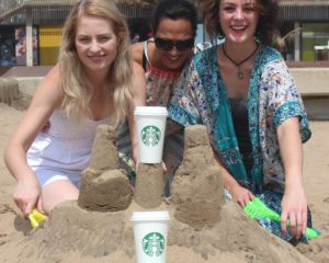 Durbanites invited to take part in Starbucks sandcastle challenge on November 18!