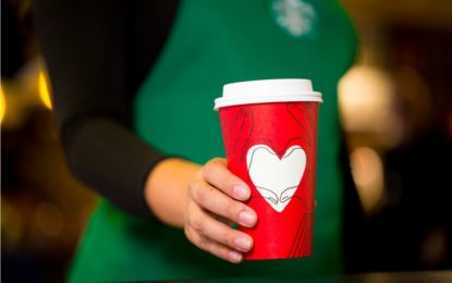 Starbucks Spreads Joy through its Red Cup Campaign