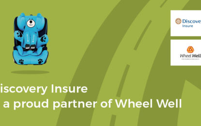 Discovery Insure partners with Wheel Well to promote child car seat safety