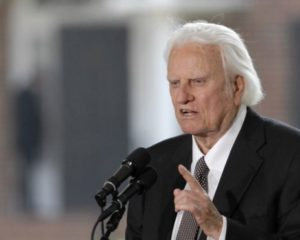 Evangelist Billy Graham dies at age 99