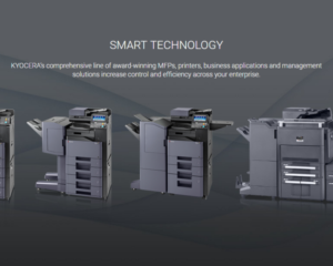 KYOCERA's international recognition for excellent printer designs, reliability and value