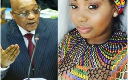 Jacob Zuma has fathered a child with a 24-year old