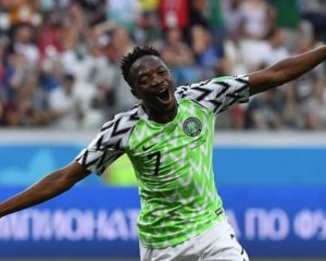 Nigeria Super Eagles soar in Russia over Iceland