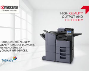 Take your pick! Our top 4 KYOCERA colour MFP printers for all office managers