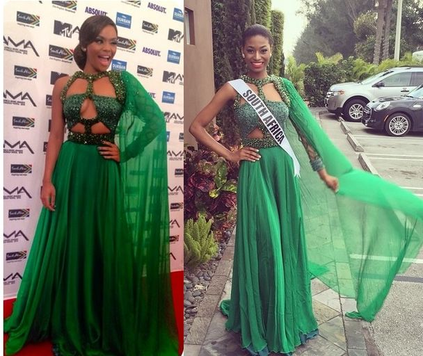 Who Wore It Best? Queen B Vs. Miss South Africa