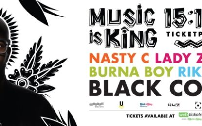 'Music is king' announce first wave of the line-up