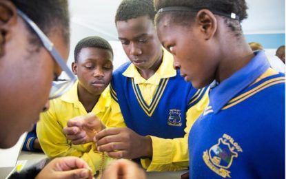 Diepsloot learners use Artificial Intelligence and Robotics  to solve community problems