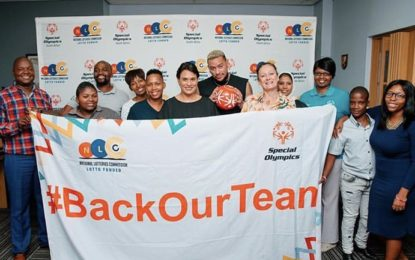 AKA gets behinds special Olympics SA national team for 2019 world games