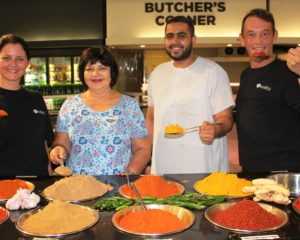 A spicy spoonful for the curry cook off at Springfield Retail Centre